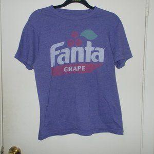 Fanta Grape Graphic Tee Purple Size Small